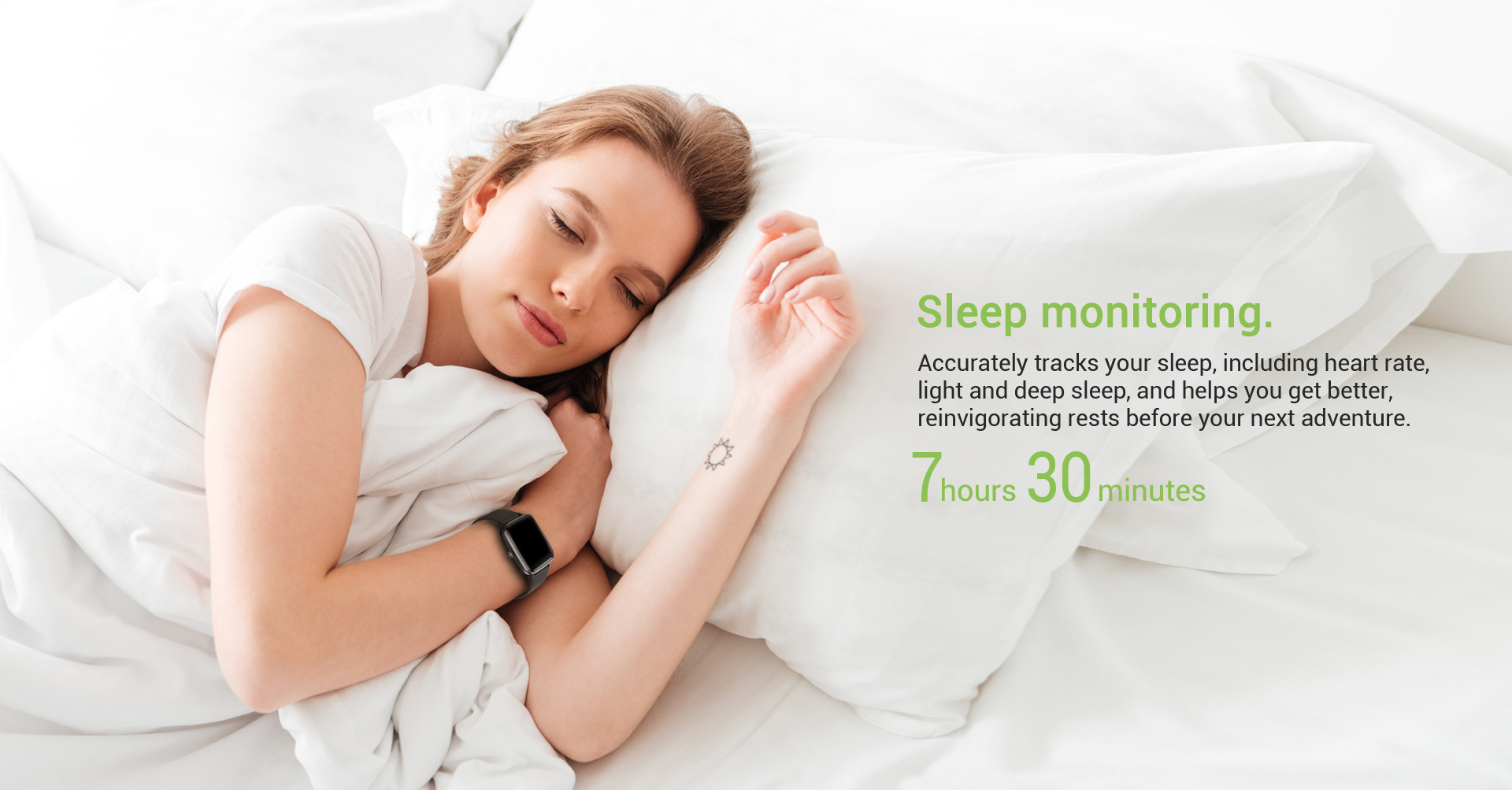 smart watch ladies with sleep tracking