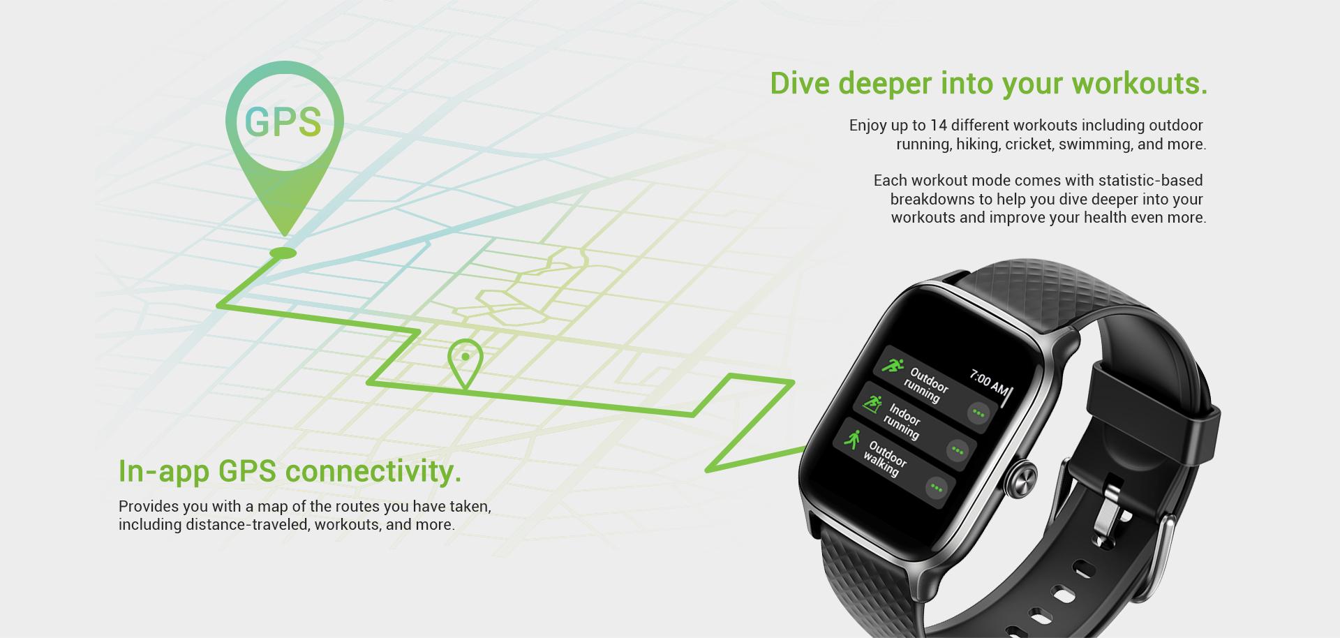 smart watch gps tracker