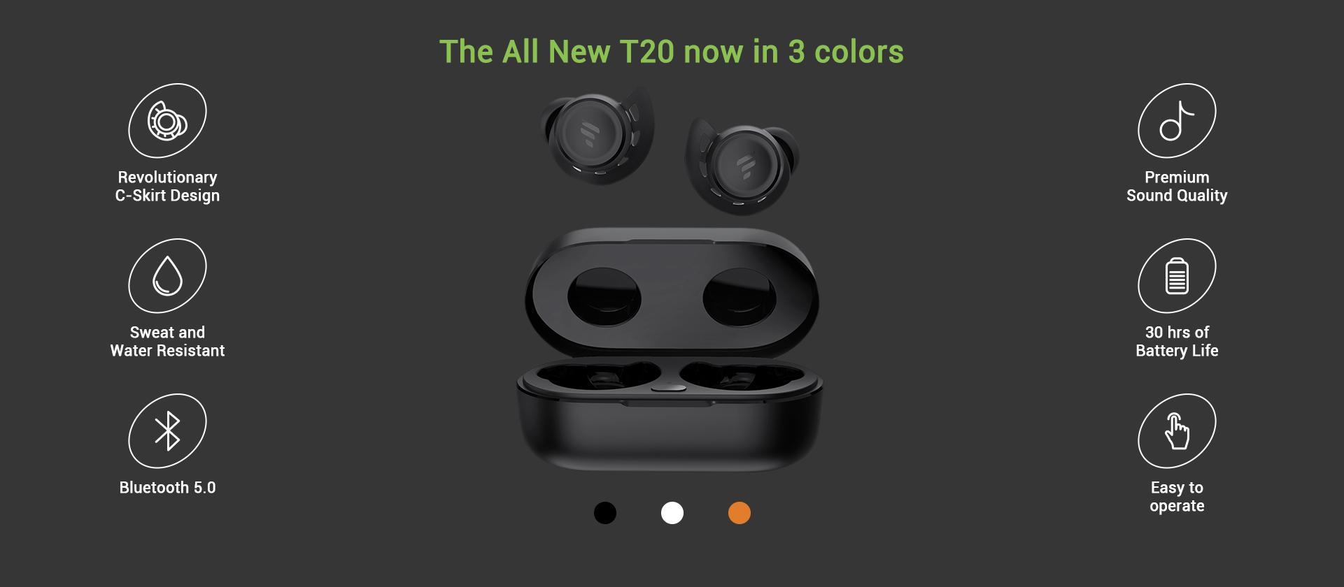 Wireless Earbuds T20