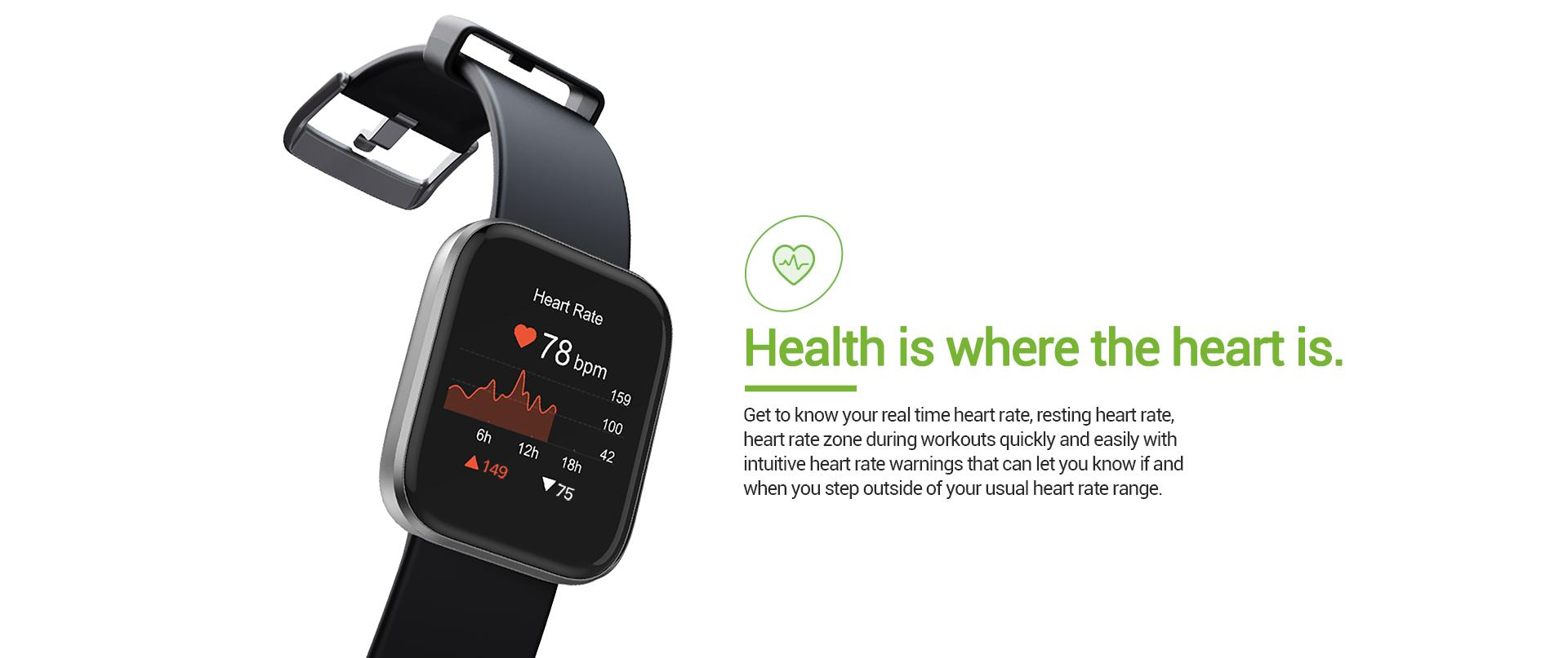 Smart Watch Heart Rate
