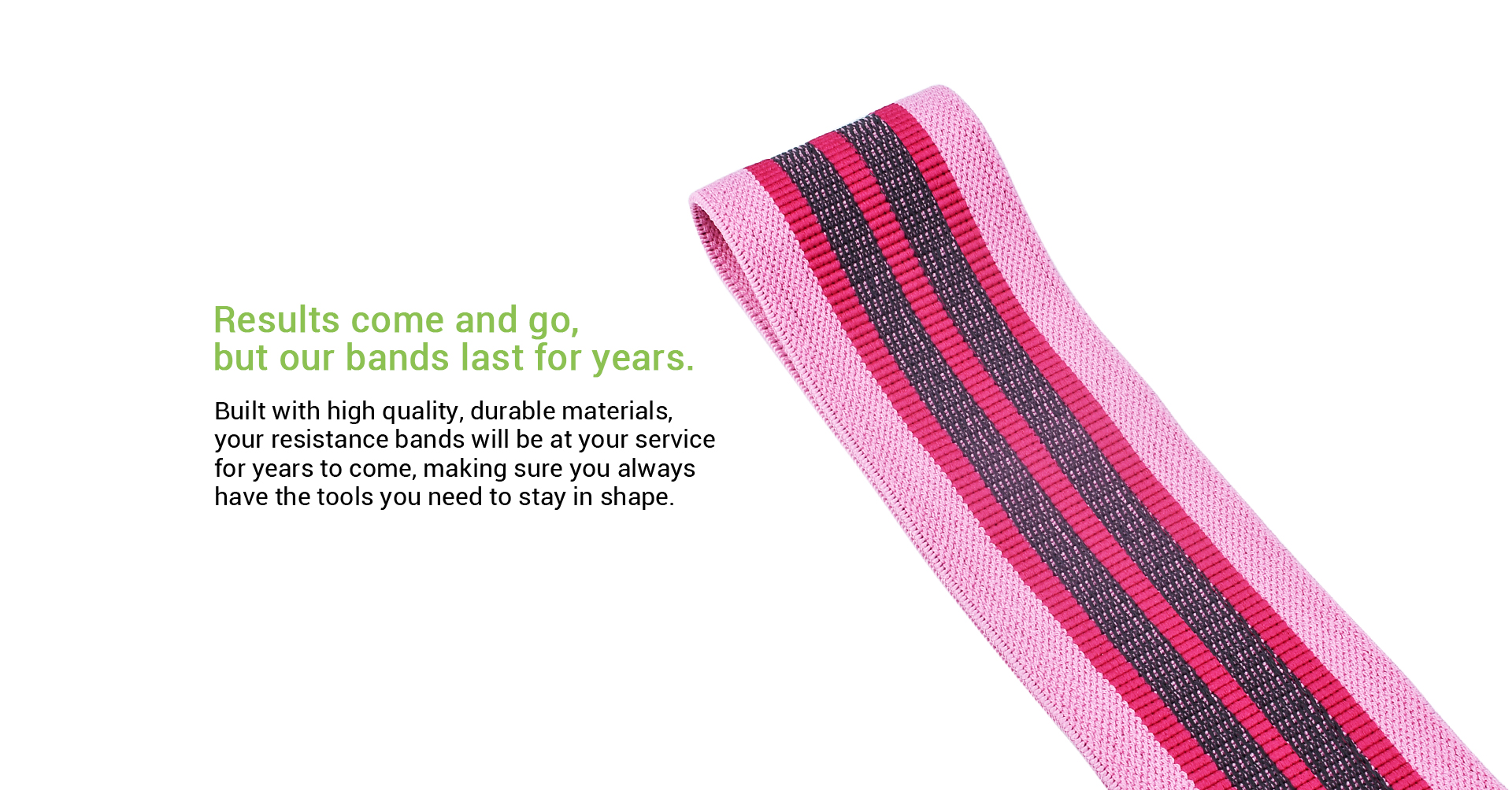 fabric resistance band durable