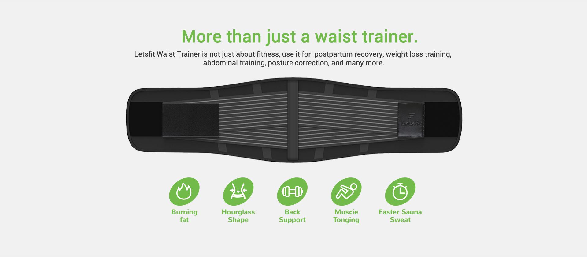 Letsfit IA01 waist trainer