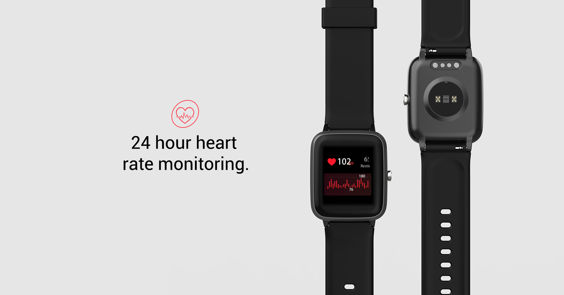 ladies smart watch with heart rate monitor