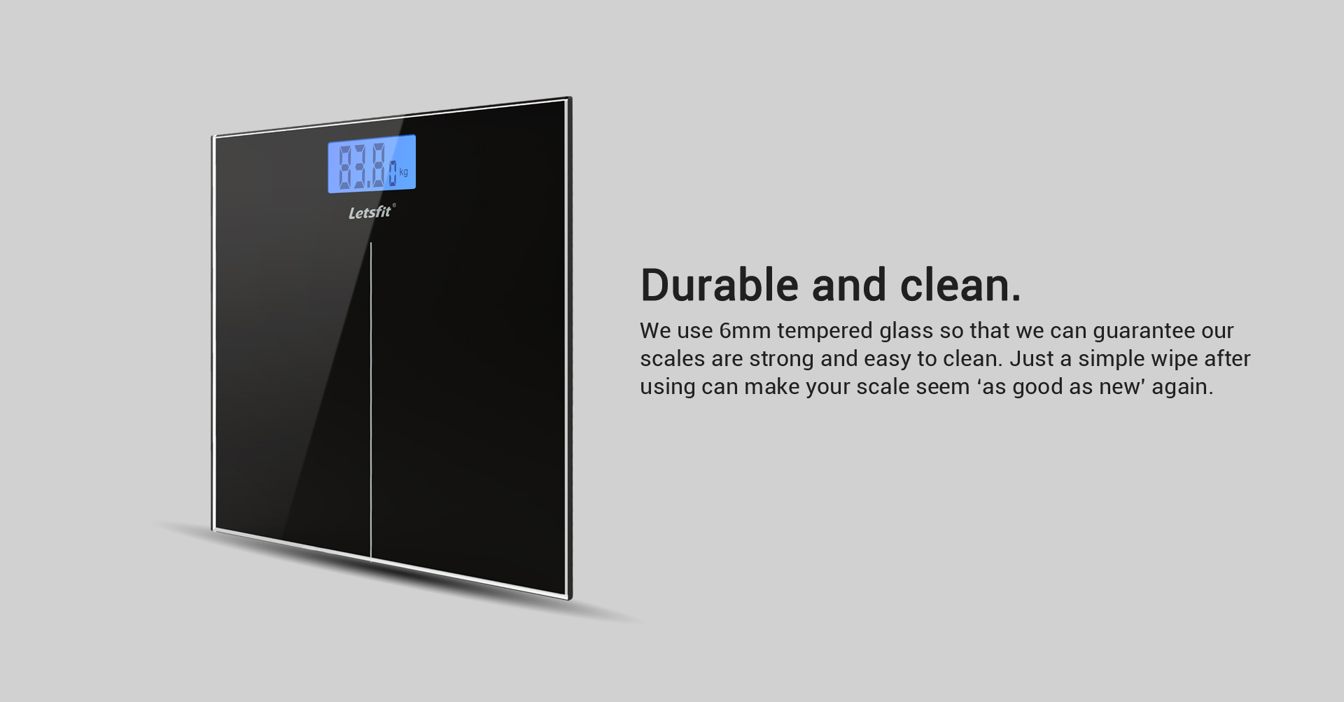 durable digital body weight scale