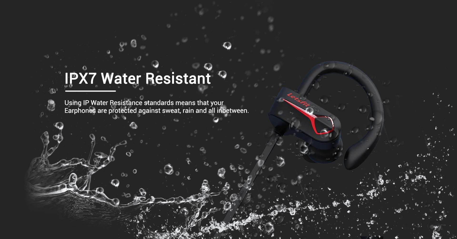 waterproof sports wireless earphones