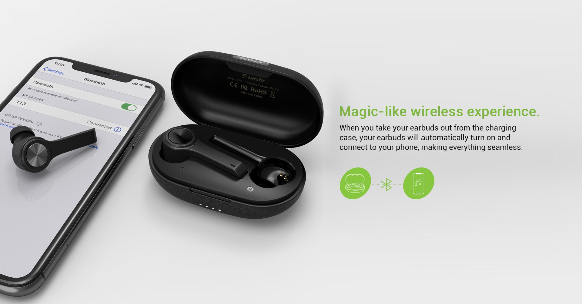 truly wireless earbud