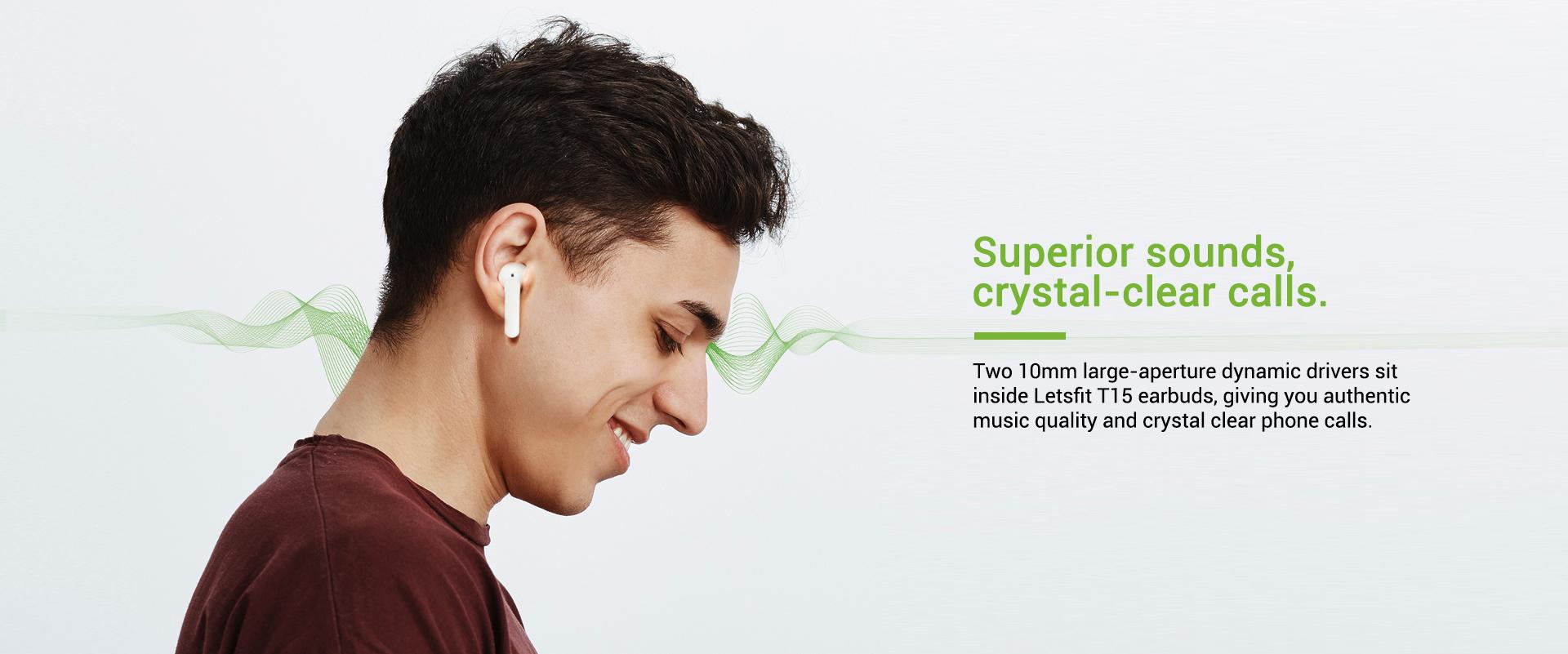 wireless bluetooth earbuds high quality sound