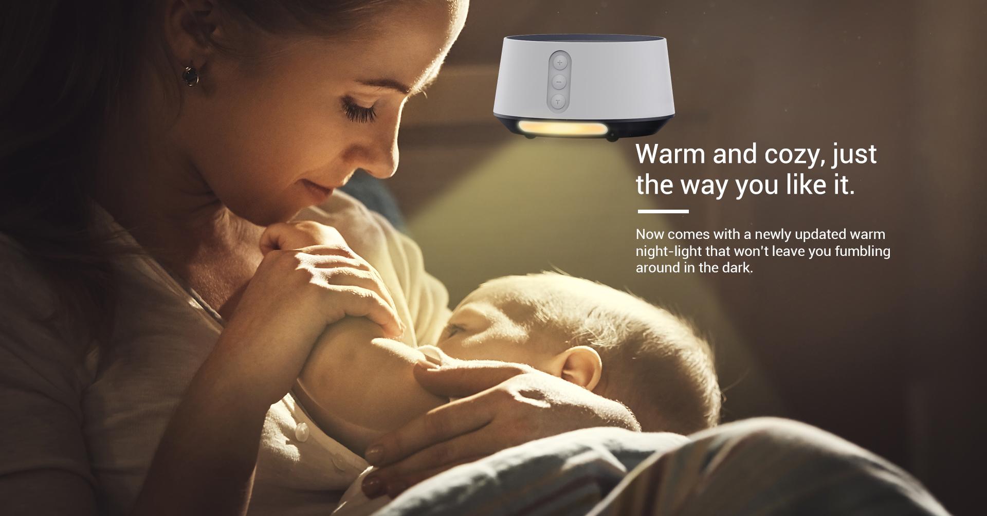 white noise sound machine for baby