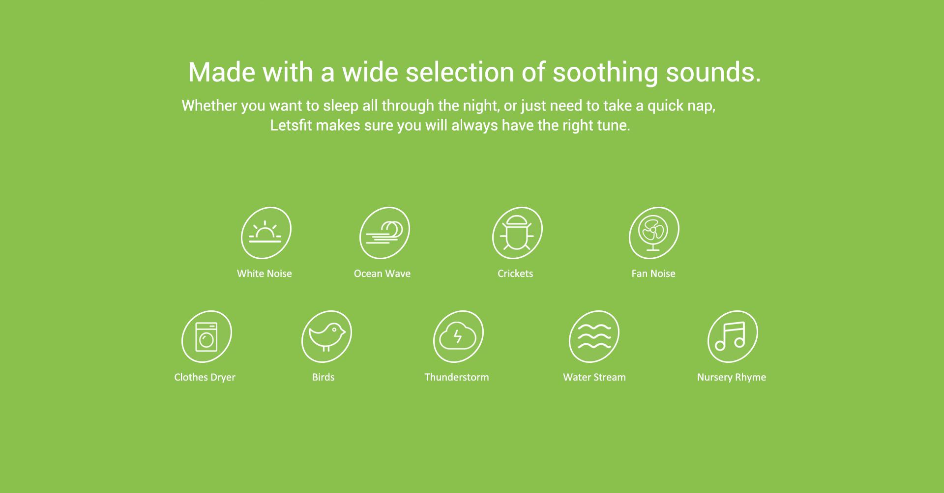 natural white noise sound machine