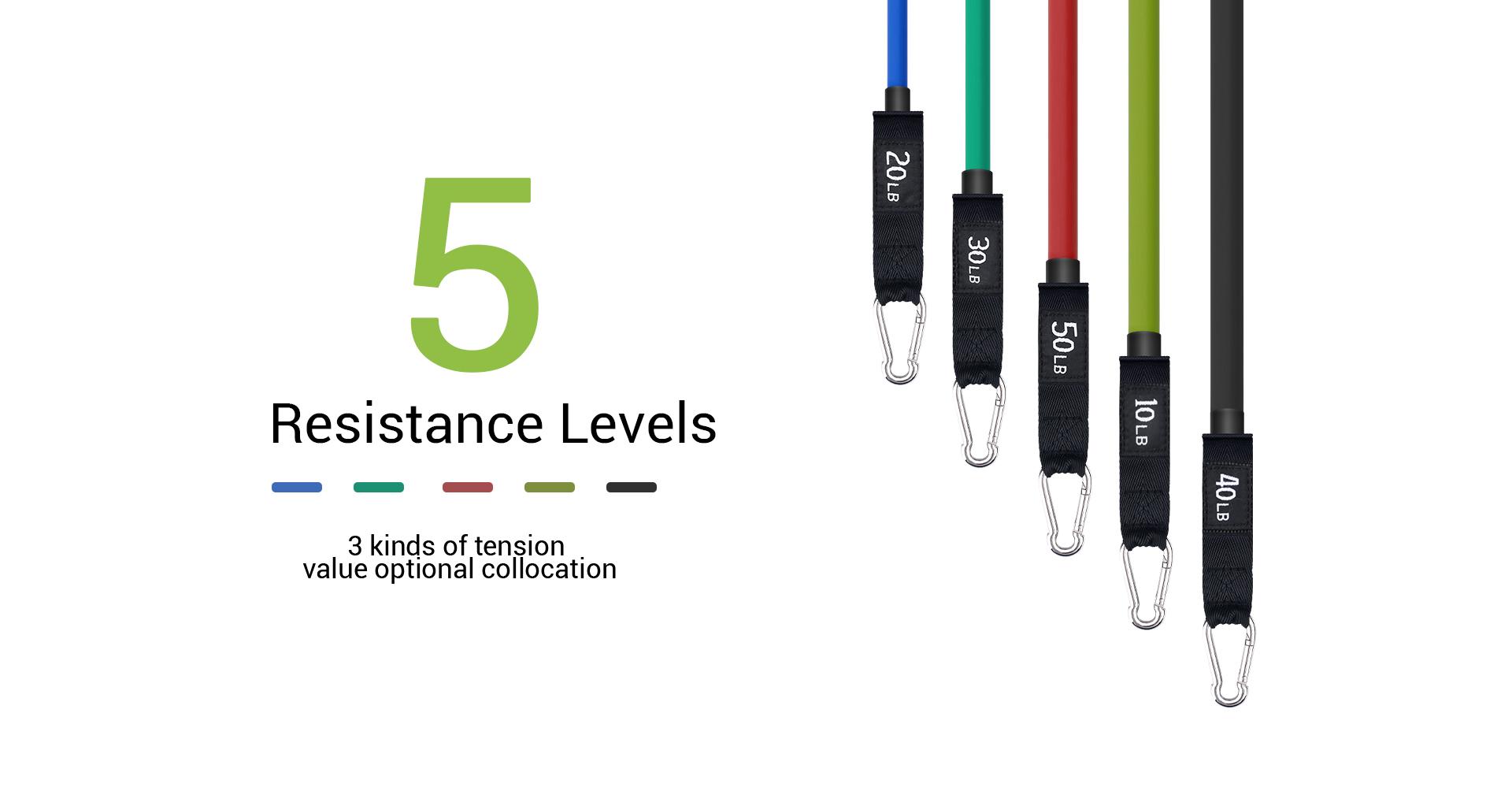 5 resistance levels